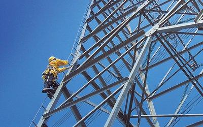 Escaleras verticales integradas